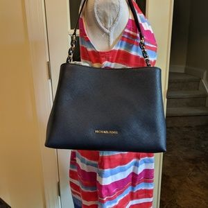 Michael kors Large Sophia Navy purse